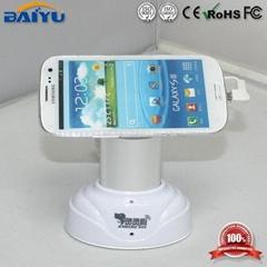 BY757W苹果5充电防盗器手机展示防盗报警支架