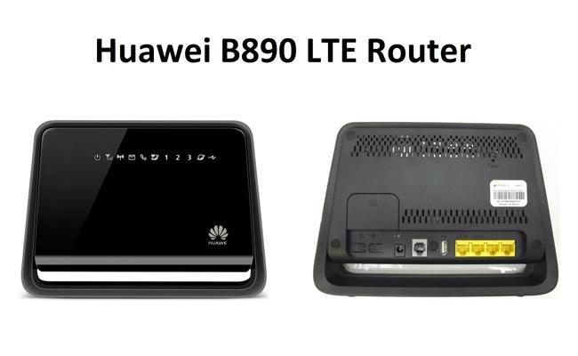 Huawei B890-75 4G LTE FDD800/900/1800/2100/2600Mhz TDD2600Mhz Smart Hub 1