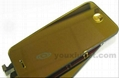 for iPhone 4 Mirror Yellow LCD Display Touch Screen Digitizer Bck Cover Home Key