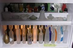酒瓶白酒紅酒瓶專用玻璃蒙砂粉
