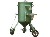 供应中国青岛手动喷砂机