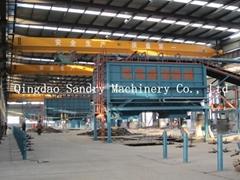 vacuum molding foundry production line casting vacuum machine