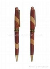 時尚木質圓珠筆