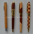 Fashion Wooden ball Pen