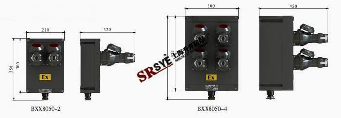 BXX8050防爆防腐插座箱 1