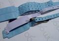 Waterproof RFID PVC HF one-time wristband for hospital 3