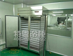 精確控溫不鏽鋼雙溫冷藏冷凍廚房櫃