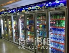 上海高檔KTV冷藏展示風幕櫃專業定做