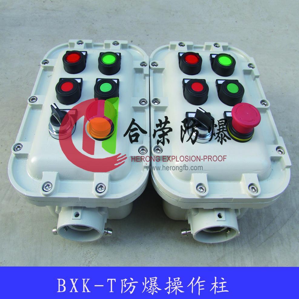 立式急停可遠程控制防爆操作柱 1