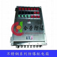 化工廠用不鏽鋼防爆照明動力配電箱