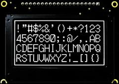 PG12864GW /Y/G/B 128x64 Graphic OLED Display Module