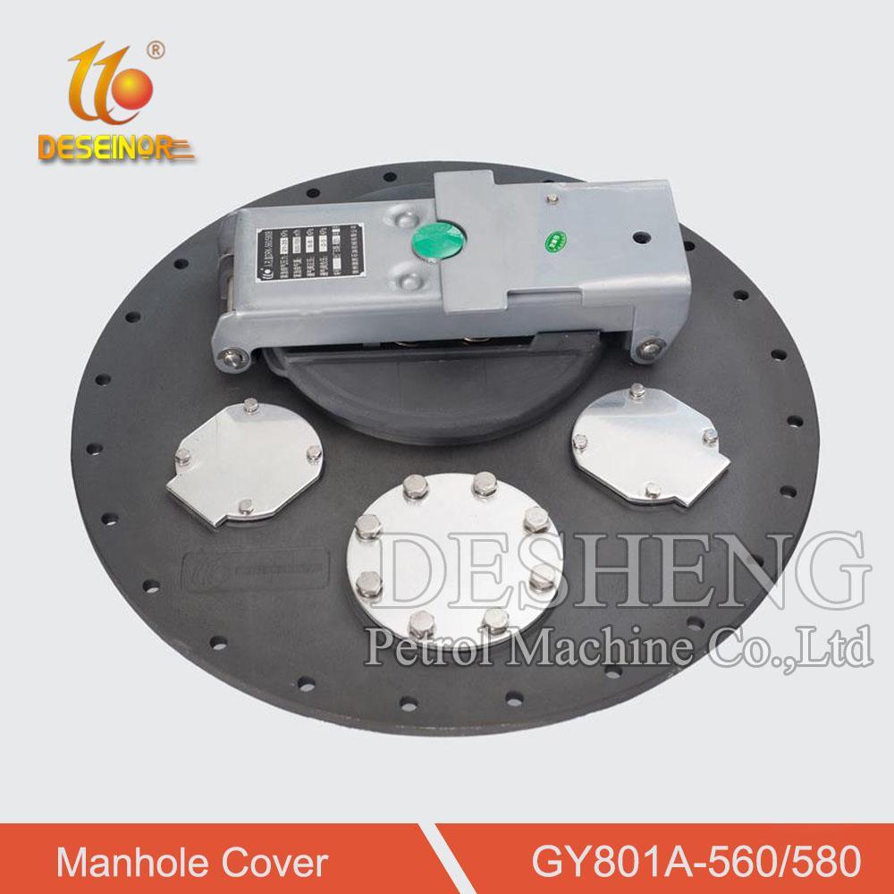 Aluminum Manhole Cover for Tanker Truck 2