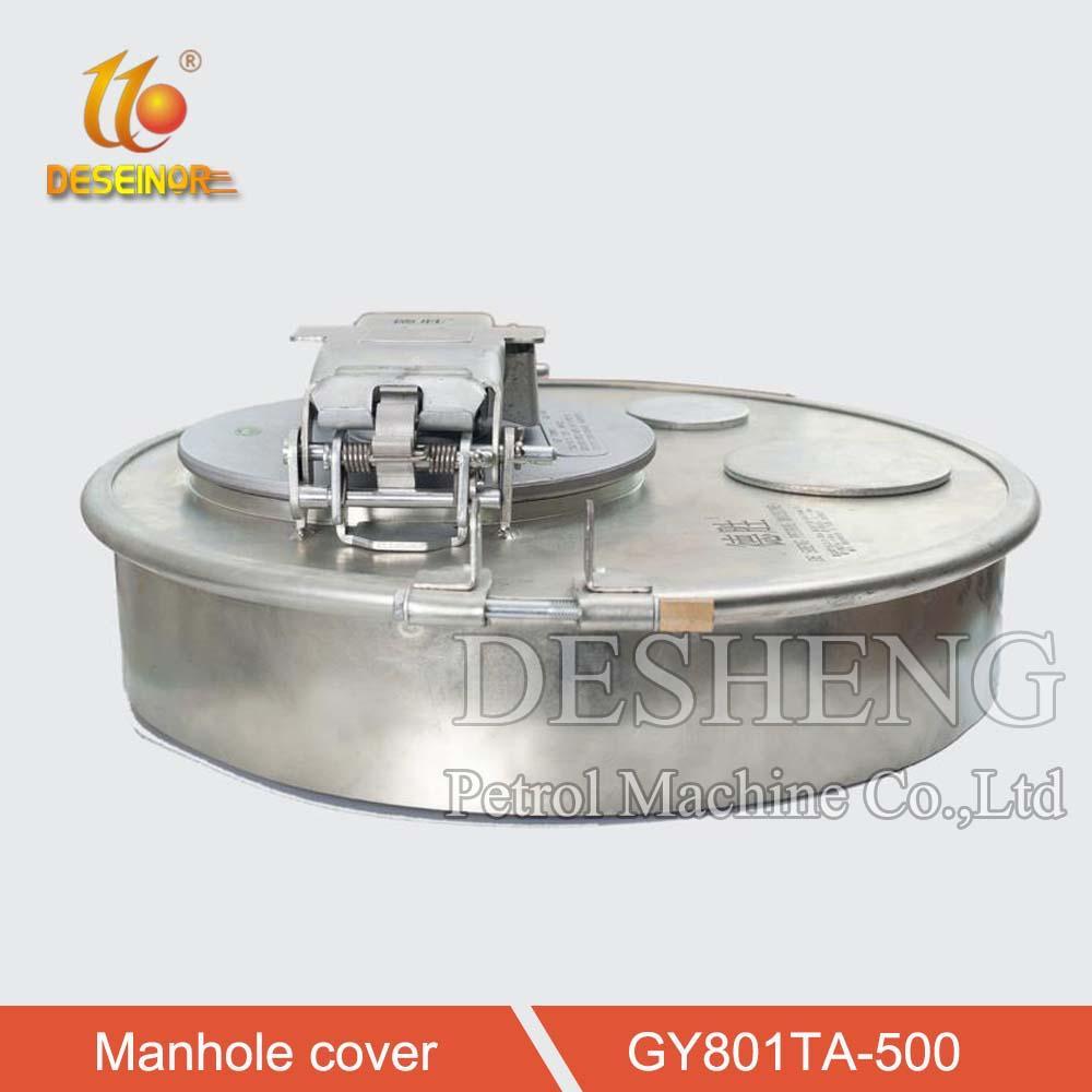 Aluminum Manhole Cover for Tanker Truck 3
