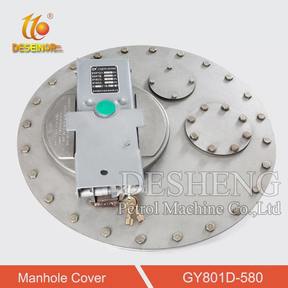 Aluminum Manhole Cover for Tanker Truck 4