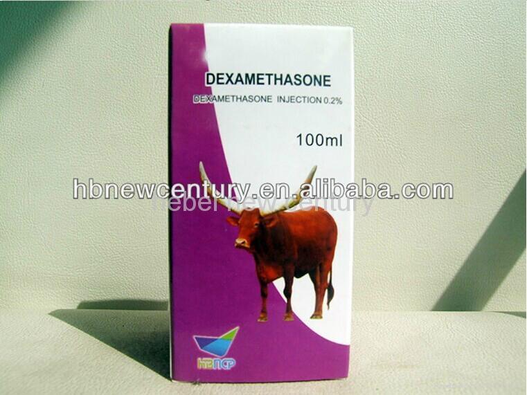 china high quality 100ml 0.2% antibiotic Dexamethasone injection for animal     3