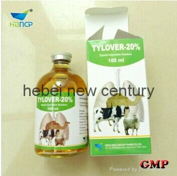 Tylosin injection 20% veterinary product for bovine   1