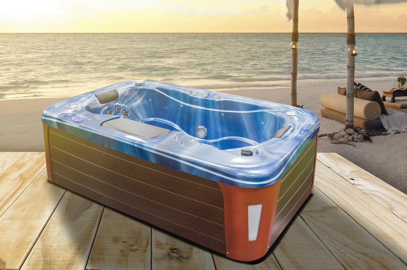 Whirlpool spa hot tub - NE-9005 - Twodee (China Manufacturer ...