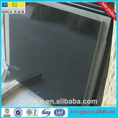 16mm cheap polished black natural stone granite tile
