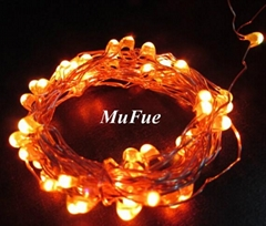 Customized Copper Wire led String Of Mufue
