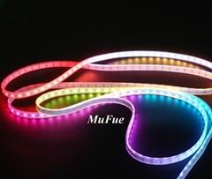 Digital dream color addressable pixel diy flexible rgb led strip light by mufue
