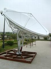 satellite antenna 3.7m for communication