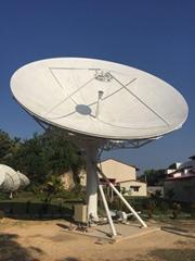 7.5m TVRO aluminum motorized satellite Antenna