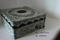 東莞德木堂手繪仿古包裝盒
