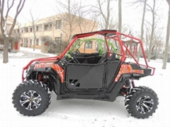 2 seats CVT 250cc 4 wheel all terrain vehicle