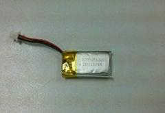 90mAh/3.7V for 3D Glasses Rechargeable Battery