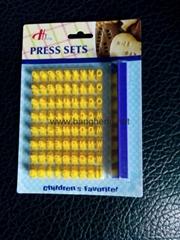 DH-A14  字母餅乾模具