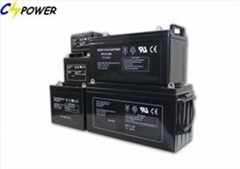 Solar Rechargeable Gel Battery 12V 2V 6V