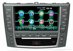 8 inch Indash Car dvd player, car gps navigation, car radio for Lexus IS250  (Hot Product - 1*)