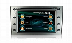 7'' In car dvd player+gps+bluetooth+radio+mp3 multimedia system for Peugeot 408