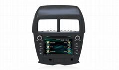 Original TFT LCD Car dvd player+gps+bluetooth+radio system for Mitsubishi ASX