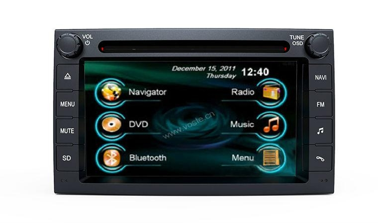 In-dash Car stereo radio/dvd/gps/mp3/3g multimedia system for Chery A3 1