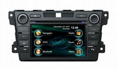 In car GPS Navigation system/dvd player/radio system for Mazda CX-7
