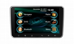 In-dash Car stereo radio/dvd/gps/mp3/3g multimedia system for Deckless Universal