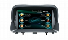 In car GPS Navigation system/dvd player/radio system for Encore Mokka