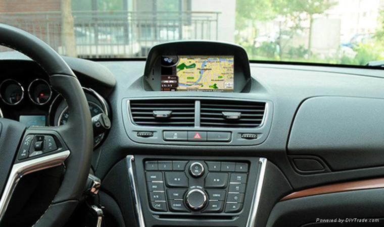 In car GPS Navigation system/dvd player/radio system for Encore Mokka   2
