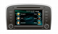 In dash entertainment Car audio stereo system DVD player GPS for Chery Fulwin 2