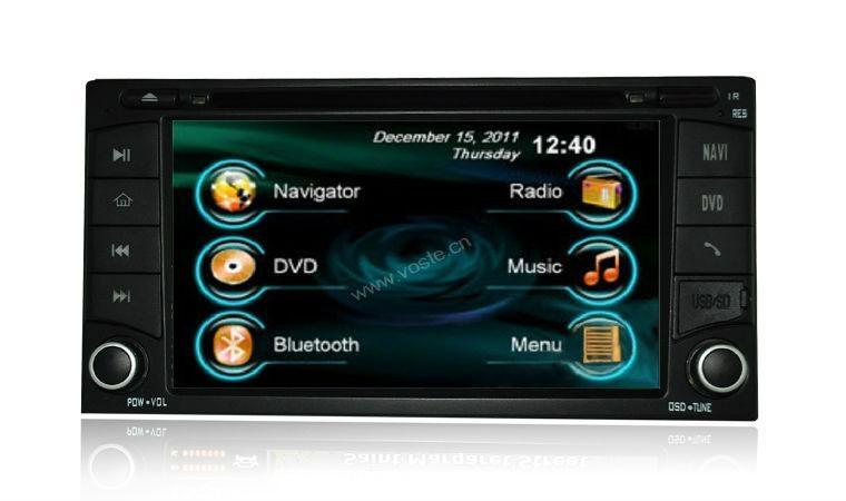 In car dvd player+gps+bluetooth+radio+mp3 multimedia system for Subaru Forestor 1