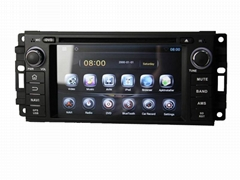 Android 4.2 dual-core car dvd player with BT/WIFI/RADIO/GPS for Jeep Wrangle
