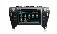 7'' Touch screen dual dvd player for car with gps/radio for Toyota Camry 2012