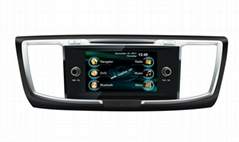 In dash Car DVD Radio player GPS Guide System for Honda Accord 2013 (Hot Product - 1*)