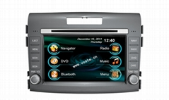 In car dvd player+gps+bluetooth+radio+mp3 multimedia system for Honda CR-V