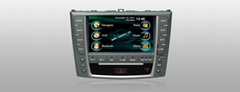 8 inch Indash Car dvd player, car gps navigation, car radio for Lexus IS250