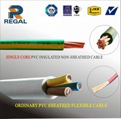 Multiple Cores PVC Copper Conductor Cable