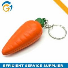 Cute Carrot Pu Stress Ball
