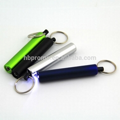 Key Chain LED Multi Function Ball Pen