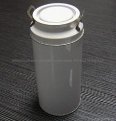 milk candy tin can